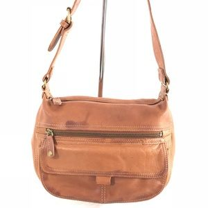 Fossil ™️ Genuine Leather Small Hobo Bag